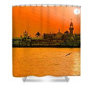 The Haji Ali Dargah Shower Curtain
