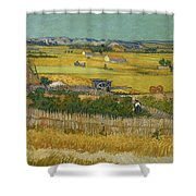 The Harvest Shower Curtain