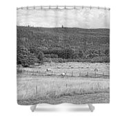 The Hay Field Shower Curtain