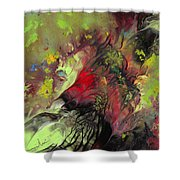 The Heart Of Nature Shower Curtain