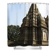 The Hindu Temple Shower Curtain