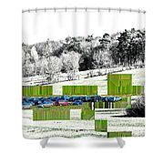 The Intrusion Shower Curtain
