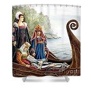 The Isle Of Avalon Shower Curtain