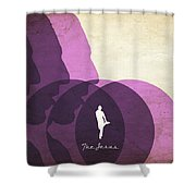 The Jesus Shower Curtain by Filippo B