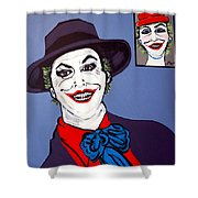 The Joker And Mom Shower Curtain