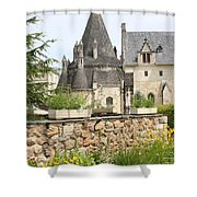 The Kitchenbuilding Of Abbey Fontevraud Shower Curtain