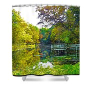 The Lake... Shower Curtain