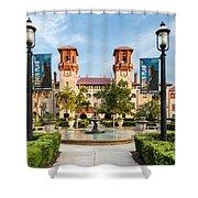 The Lightner Museum Formerly The Hotel Alcazar St. Augustine Florida Shower Curtain