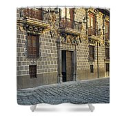 The Madrasah Of Granada Shower Curtain