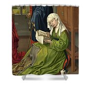 The Magdalen Reading Shower Curtain