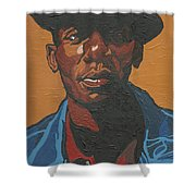 The Most Beautiful Boogie Man Shower Curtain