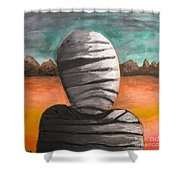 The Mummy And The Curse Of Eternity Shower Curtain