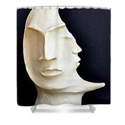 The Mysterious Moon Shower Curtain
