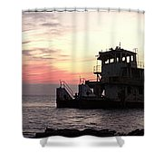 The Old Tug Shower Curtain