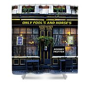 The Only Fool's And Horse's Shower Curtain