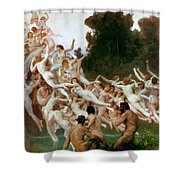 The Oreads Shower Curtain