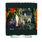 The Other Forest Shower Curtain by Lisa Yount