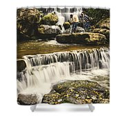 The Photographer's Quest V Shower Curtain