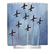 The Red Arrows Shower Curtain