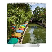 The River Walk Shower Curtain