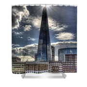 The Shard And South Bank Shower Curtain