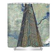 The Shard London Art Shower Curtain
