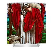 The Shepherd Shower Curtain
