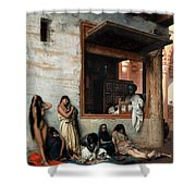 The Slave Market Shower Curtain