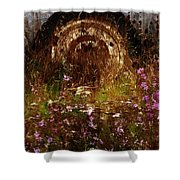 The Spare Wheel  Shower Curtain