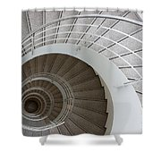 The Spiral  Shower Curtain