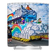 The Spirit Of Mardi Gras Shower Curtain by Steve Harrington