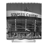 The Staples Center Shower Curtain