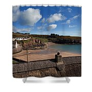 The Strand Inn And Dunmore Strand Shower Curtain