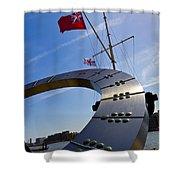 The Sundial Shower Curtain