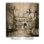 The Taft House - Brown University 1958 Shower Curtain