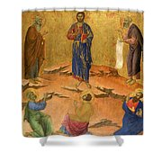 The Transfiguration Shower Curtain