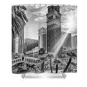 The Venetian Resort Hotel Casino Shower Curtain