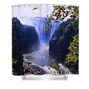 The Victoria Falls Shower Curtain