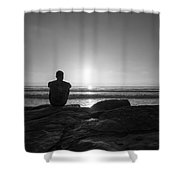 The View Wide Crop Shower Curtain