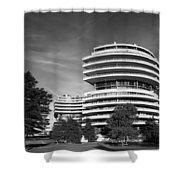 The Watergate Hotel - Washington D C Shower Curtain