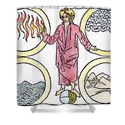 The World Soul, 1487 Shower Curtain