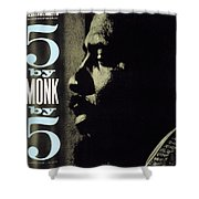 Thelonious Monk -  5 By Monk By 5 Shower Curtain