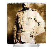 Theodore Roosevelt 1898 Shower Curtain