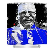 Theodore Roosevelt Charlie Duprez Photo Oyster Bay New York 1912-2013 Shower Curtain