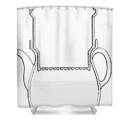 Thompson Drip Coffee Pot Shower Curtain