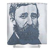 Thoreau Shower Curtain