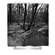 Thorn Creek Shower Curtain