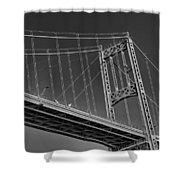 Thousand Islands Bridge Shower Curtain
