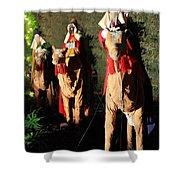 Three Wise Men Shower Curtain