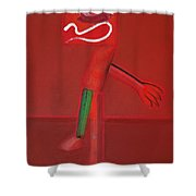 Thriller Shower Curtain